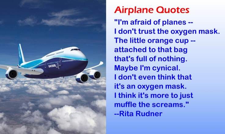 Funny Quotes about Airplanes