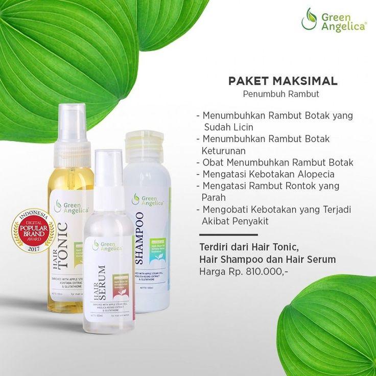 Paket #penumbuhrambut yang menjadi #bestseller dan salah satu yang terbaik di #indonesia . #greenangelica memadukan 3 manfaat berbeda dari PRODUK #perawatanrambut yaitu #hairtonic #shamporambutrontok dan #serumrambut alami . Memiliki multifungsi yaitu untuk #menumbuhkanrambut #menebalkanrambut #mengatasirambutrontok dan #merawatrambut sehari-hari . =================== . dapatkan segera green angelica maximal treatment isi form ordernya disini ya >>htpp://greenangelica.us