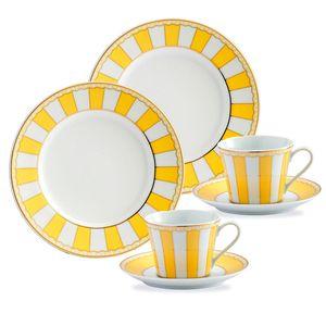 Noritake Carnivale Tea-Set 6 piece Yellow - Aura Gift Box $69.35