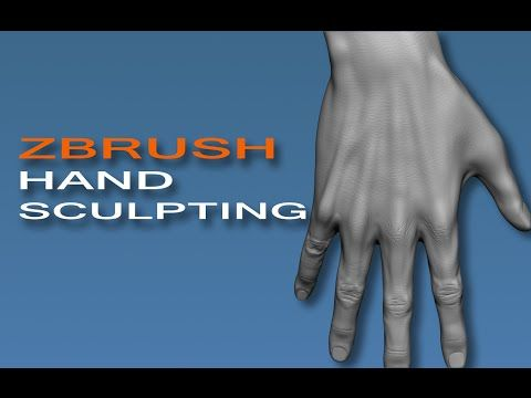 Hand Sculpting With Primitives - YouTube