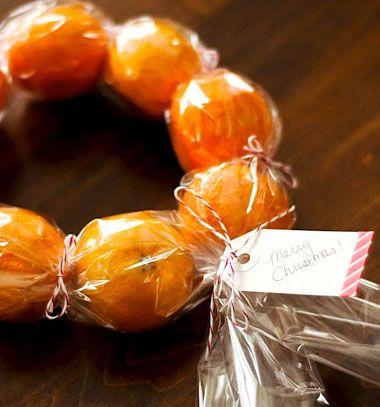 Healthy DIY Clementine Wreath // Egézséges koszorú mandarinokból // Mindy - craft & DIY tutorial collection