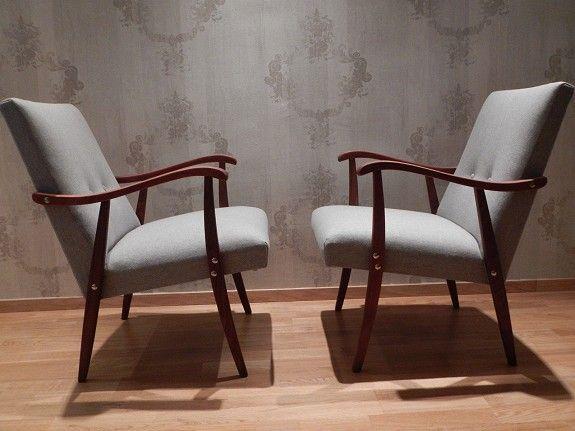 Nyrestaurerte stoler fra 50-tallet - FINN Torget