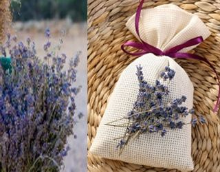 Charming DIY Sachets. Aromatic Herbs Like Rosemary, Cinnamon, Lavender, Mint And  Balsam Can