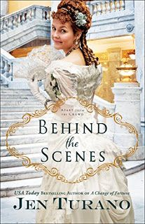 C Jane Read     : Behind the Scenes by Jen Turano