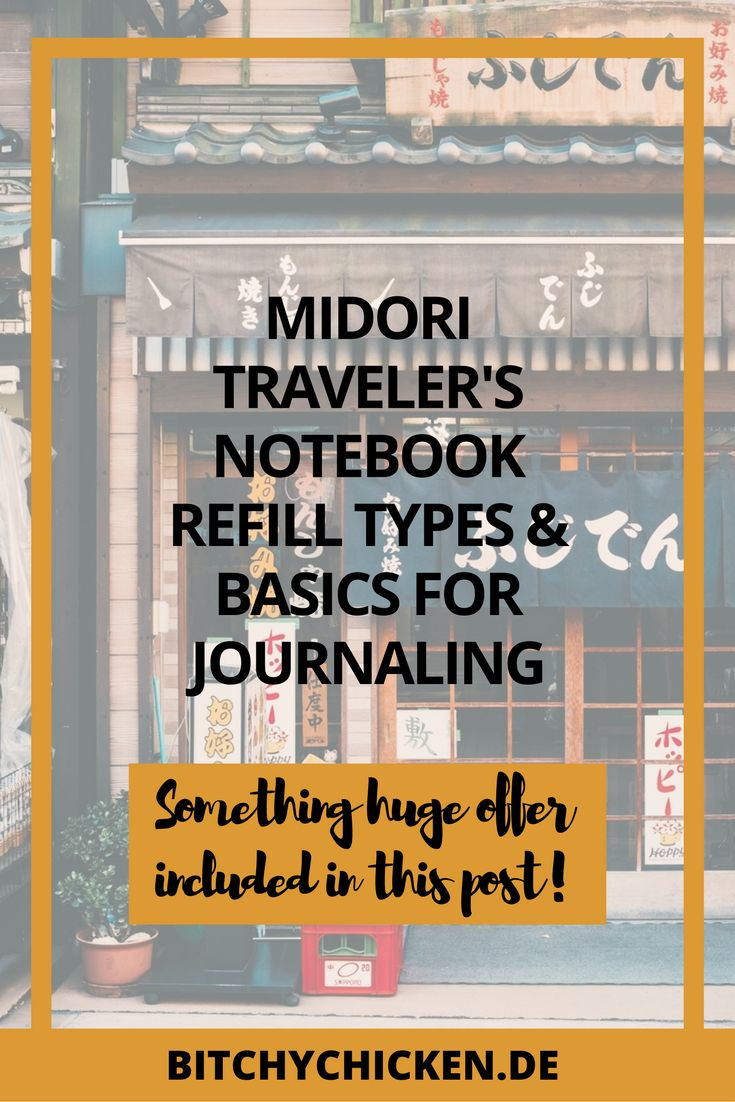 If you're curious about Midori traveler's notebook refill basics, click this post and learn the fundamentals of TNs and why you should buy one.