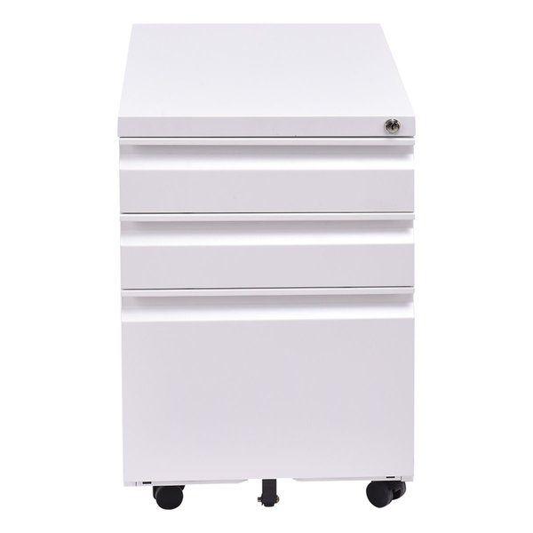 Callen 3 Drawer Mobile Vertical Filing Cabinet Filing Cabinet Mobile File Cabinet Symple Stuff