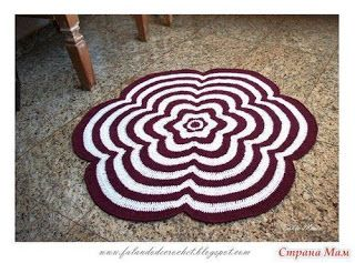 Tina's handicraft : flower carpet