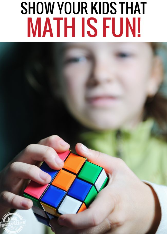 10 Ways to Show Your Kids that Math is Fun! - Kids Activities Blog