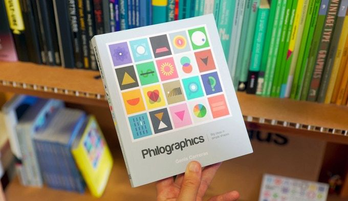 A visual dictionary of philosophy explaining big ideas in simple shapes. Available as an art print, book and postcard book.