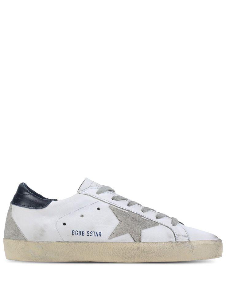 Chaussures De Sport Pour Les Femmes En Vente, Blanc, Cuir, 2017, 35 36 Oie D'or