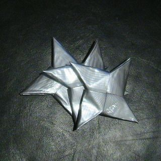 Duct Tape Ninja Star