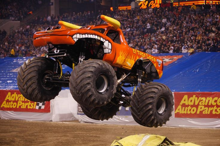 Monster Jam Truck Rally! I had the mini one of this when I was little!