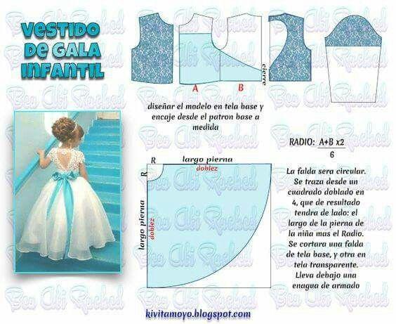 vestido formal de niña con espalda de corazon | novia | pinterest