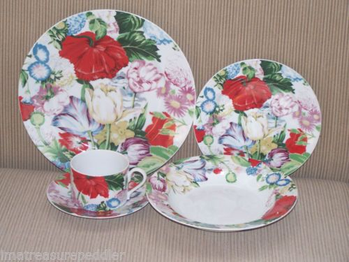 Mikasa Chintz DE Paris 40 PC Dinnerware SET | eBay : chintz dinnerware - pezcame.com