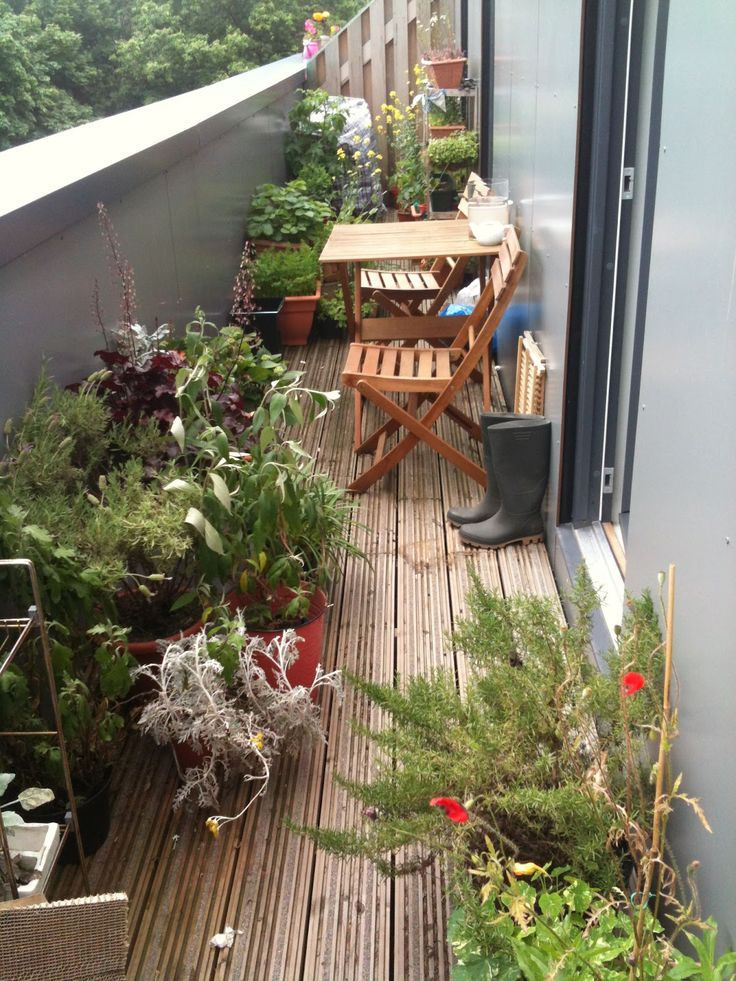 Garden Ideas For Narrow Spaces narrow space designs woohome 14 Small Balcony Decorating Ideas
