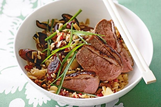 Duck With Eight-jewel Rice Recipe