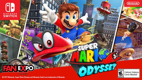 Nintendo of Canada is coming to Fan Expo Toronto   Nintendo of Canada is coming to Fan Expo Toronto (Aug 31-Sept 3) and has a lot of activities lined up for people of all ages to enjoy! The Super Mario Odyssey game will be playable and there will be giveaways while quantities last. People who pre-order the Super Mario Odyssey game at the EB Games booth while at Fan Expo will receive a special edition Super Mario Odyssey poster as a gift with purchase! In addition to the playable demo there…