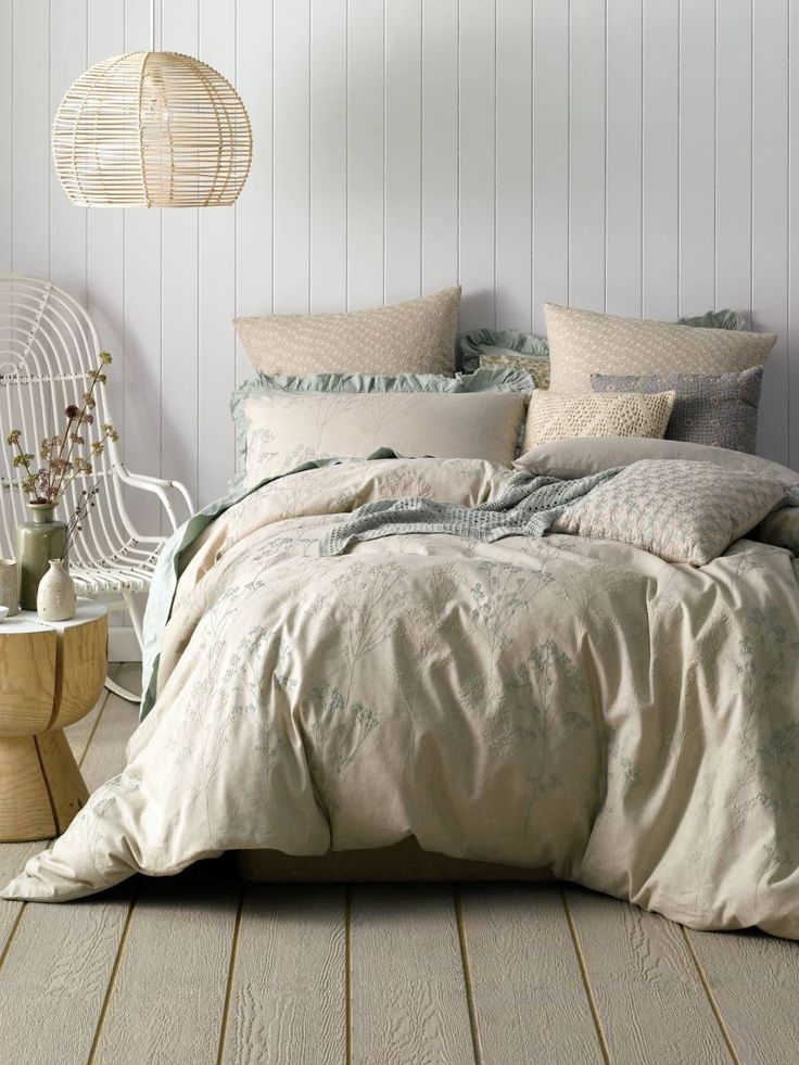 Single Sage Inglewood Quilt Cover Set Quilt Covers