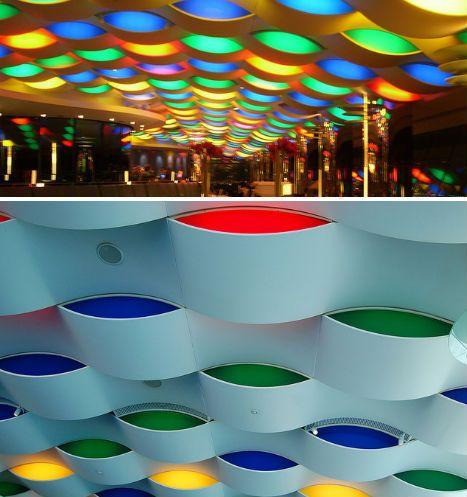 Al muntaha restaurant burj al arab ceilings pinterest for Hotel dubai design district