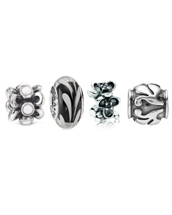 Pandora Goddess of the Nightlife Charm Set $165.00 Available at: www.always-forever.com