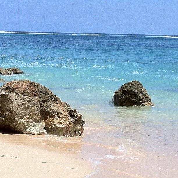 Beach at Nusa Dua Area