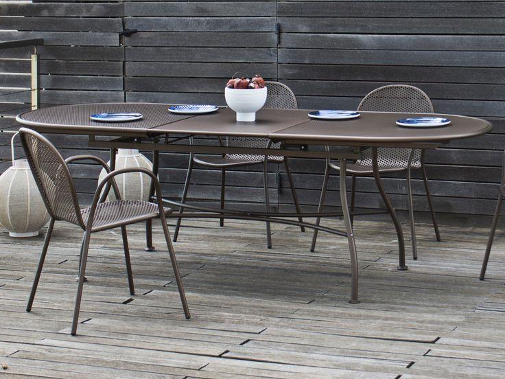 1000 id es sur le th me table ovale sur pinterest tables ovales diner dans le patio et tables - Table jardin ovale le havre ...
