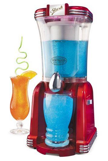 Retro Series Slush Drink Maker $35.98 Shipped (Reg $60) - http://couponingforfreebies.com/retro-series-slush-drink-maker-35-98-shipped-reg-60/