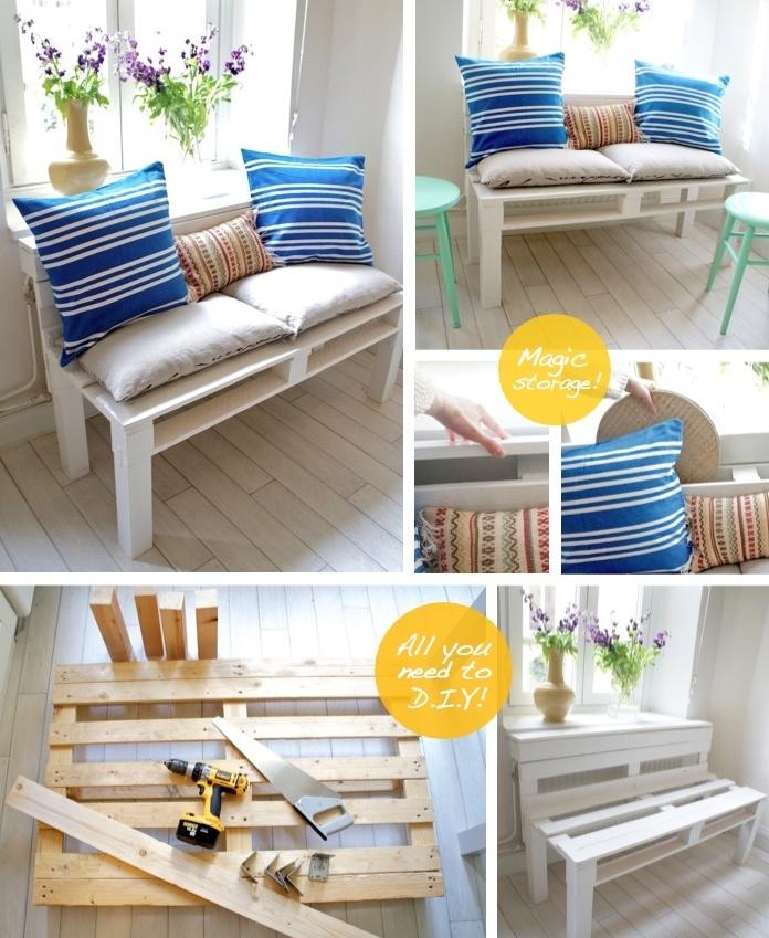 Membuat Sendiri Sofa Cantik Dari Kayu Bekas Interior Diy Pinterest Pallet And Furniture