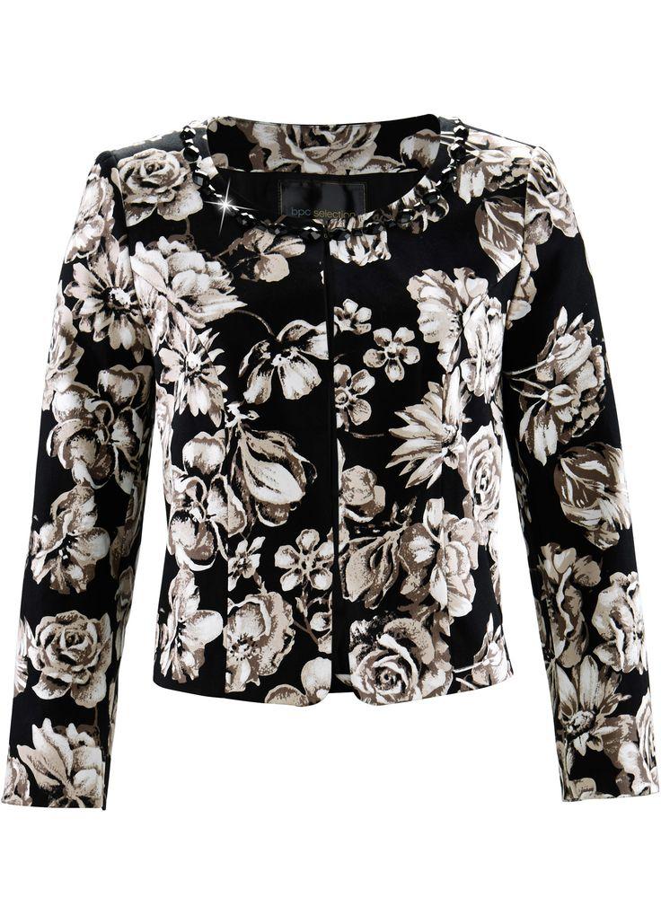 £: 2016/17  Bolero Nero/marroncino fantasia - bpc selection è ordinabile nello shop on-line di bonprix.it da ? 19,99. Con bellissima fantasia floreale, scollo rotondo e ...