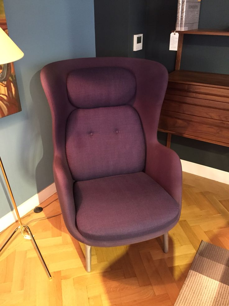 Purple Fritz Hansen Ro chair