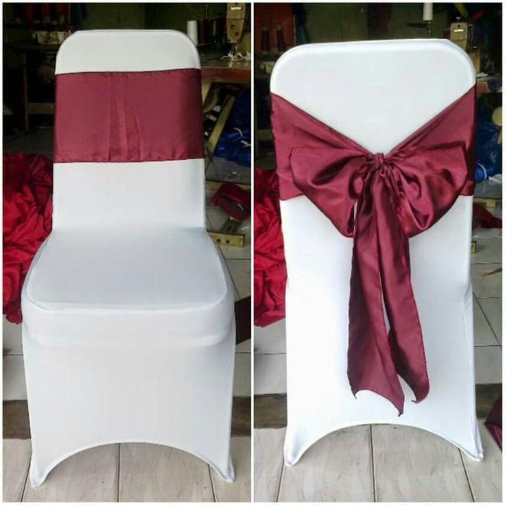 Sarung kursi/bungkus kursi Futura kotak pakai pita saten. Hbngi 081317171058 www.penjahitgroup.com BBM 5bacf321