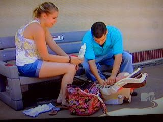 Kailyn from Teen Mom 2 has quite the Vera collection.  She uses a Symphony in Hue Miller bag as a diaper bag.