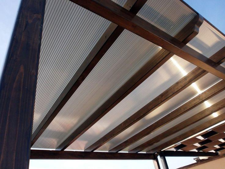 Las 25 mejores ideas sobre techo policarbonato en - Techos para pergolas de madera ...