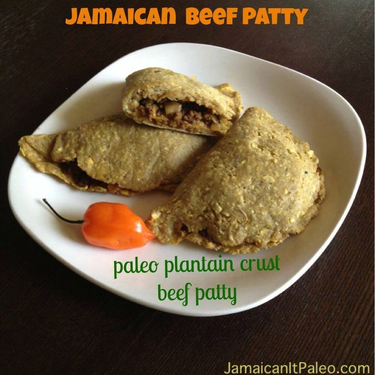 Paleo Jamaican Beef Patties