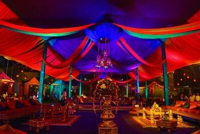 Moroccan theme - Nuptials by Priyanka Pandey Info & Review | Decor in | Wedmegood