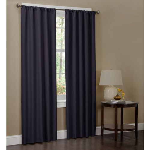 Microfiber Curtain Panel, Set of 2, 40x84 | Curtain Panels, Curtains ...