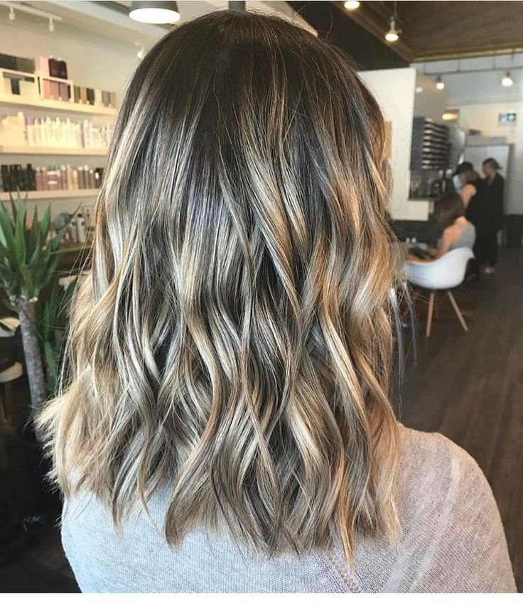 style hair color 10 wavy lob hair styles color amp styling trends right now 4448