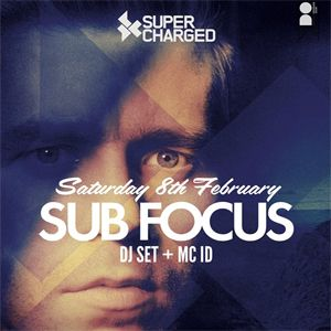 Sat 08 Feb 2014  After headlining Supercharged arena at Shakedown festival, Sub Focus & MC ID are back to take on Brighton once more with their eclectic selection of bass heavy anthems. Tickets £13.50+BF This will sell out so to avoid disappointment click the image to purchase your ticket now!