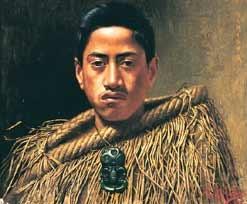 Charles F. Goldie OBE 1870-1947 Hamiora 1910 (Hamiora Haupapa, Ngāti Whakaue)