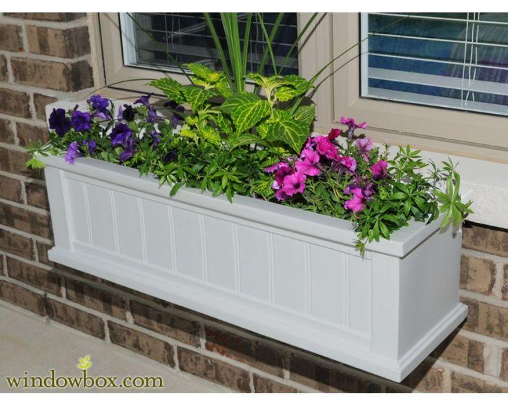 129 best window boxes images on pinterest window boxes window box planter and flower boxes - Window Box Planters