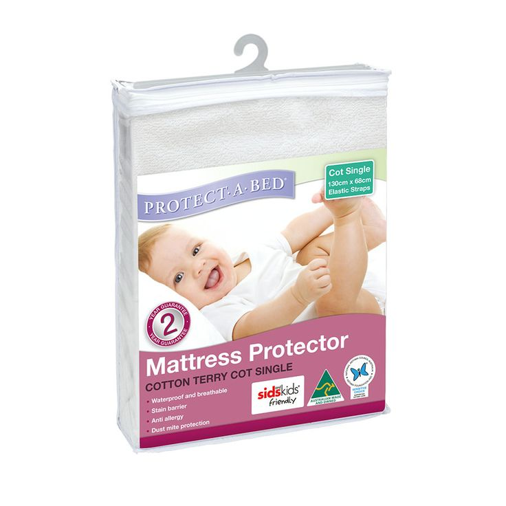 Standard Terry Cot Mattress Protector | Toys R Us Babies R Us Australia