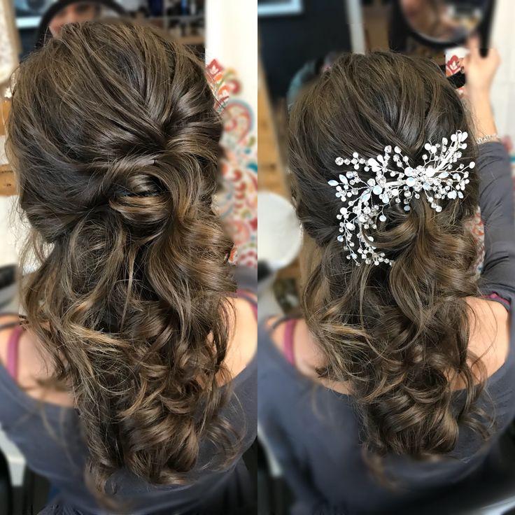 It's all about the details. Hair by Kat Oropallo Katherine Elizabeth Salon   . . . #wedding hair#wedding