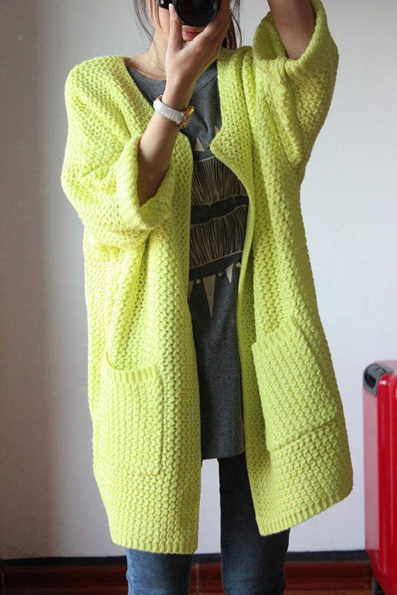 86606bc721c5d Cachemira de cuello de punto vestido sweater lana cardigan de ...