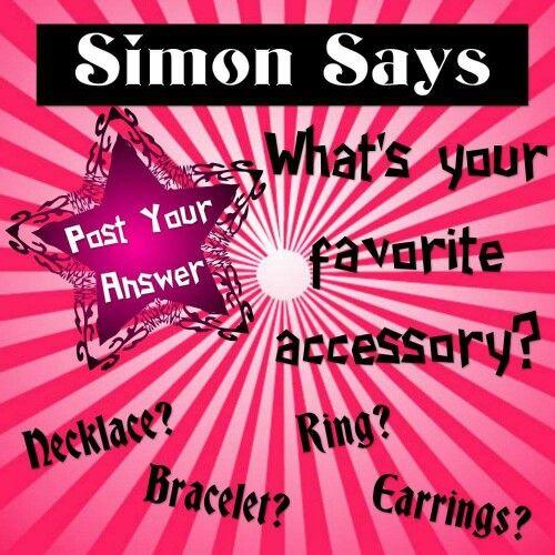 Simon says, Paparazzi Accessories with Alicia Zeller #24034