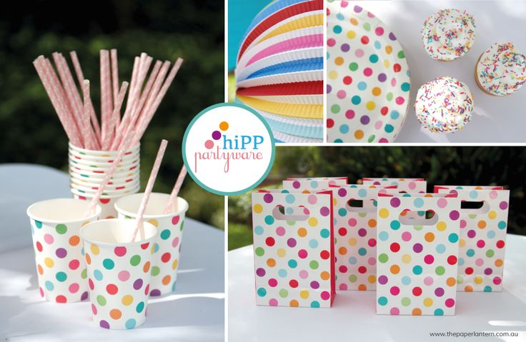 Love the hiPP party ware. Who wouldn't want this at their party!