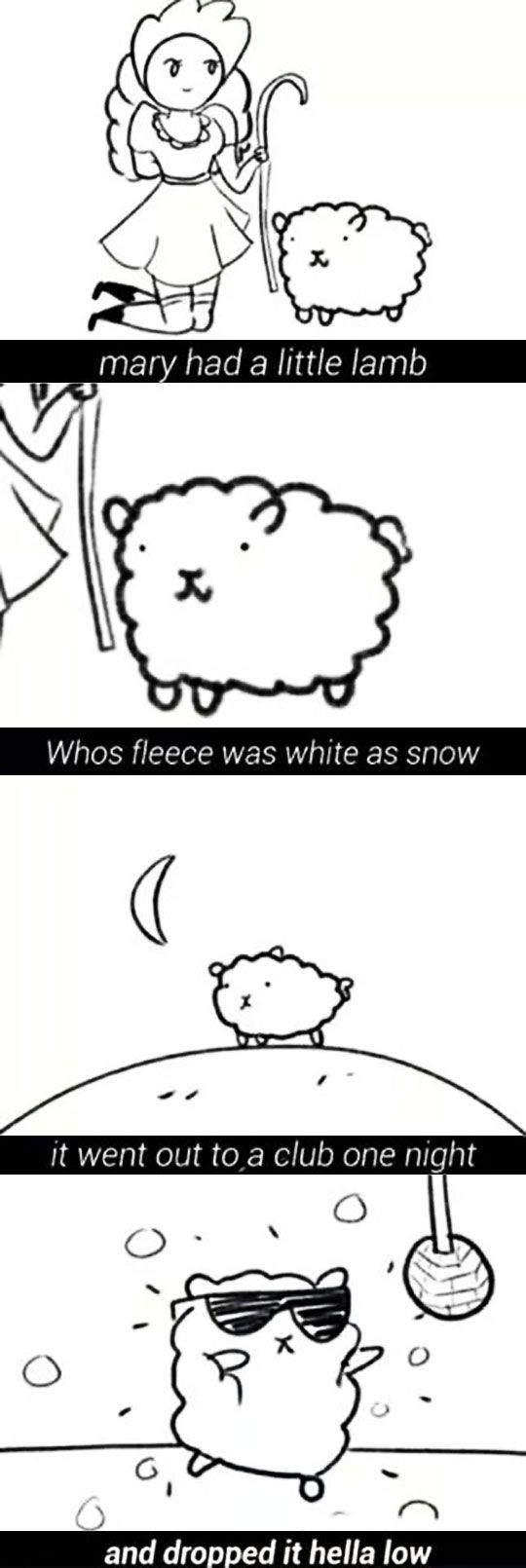 Nursery Rhymes Changed For The Current Generations