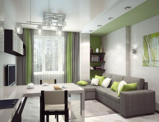 Однокомнатная квартира в Академгородке. Квартира-студия