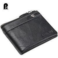 2016 Luxury Casual 100%Genuine Cowhide Leather Wallet Men Wallets Coin Purse Pocket Male Money Clutch Bags Purses…