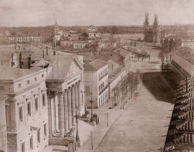 Carrera de San Jerónimo 1853