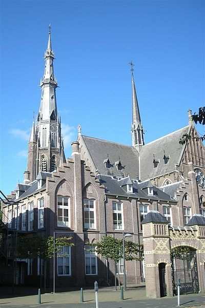 Sint Bonifatiuskerk (St. Boniface) Church in Leeuwarden, Friesland, The Netherlands